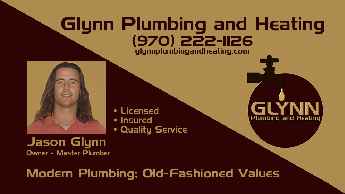 Printable Flyer And Business Card For Glynn Plumbing Heating